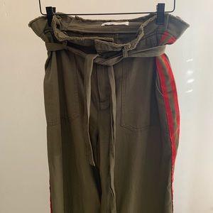 Zara Army Green trouser